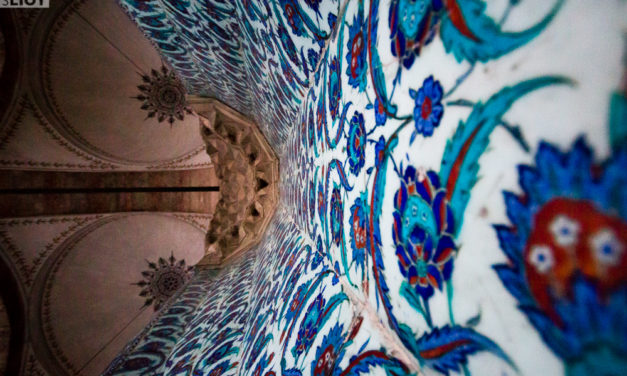 Photo of the Week: Rustem Pasha Mosque in Istanbul