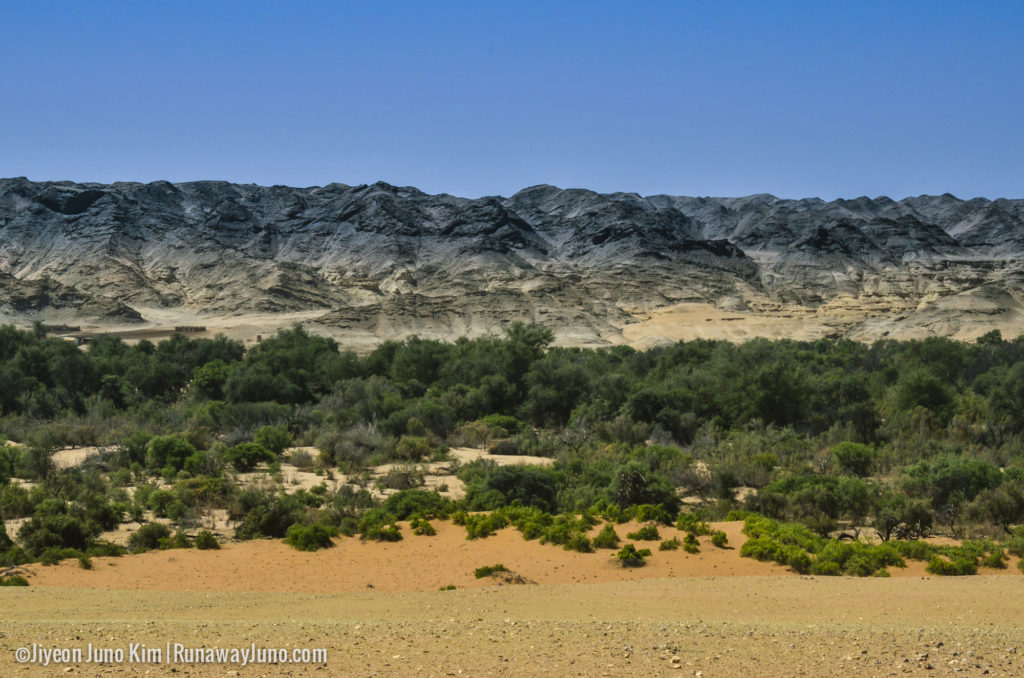 Dry rivers of Namibia