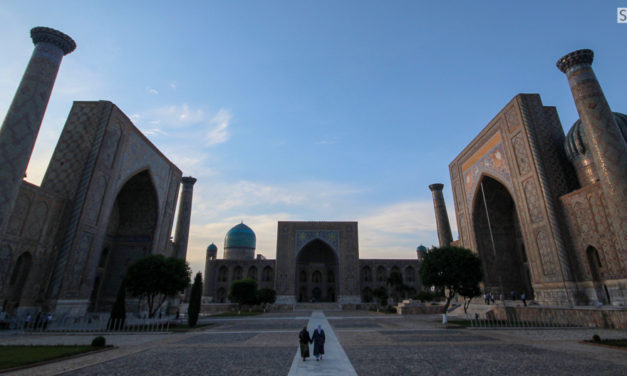 Photo of the Week: The Registan in Samarkand