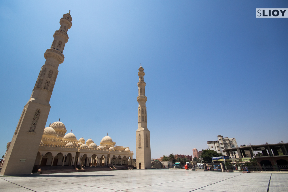 Mosque in Central Hurghada Egypt