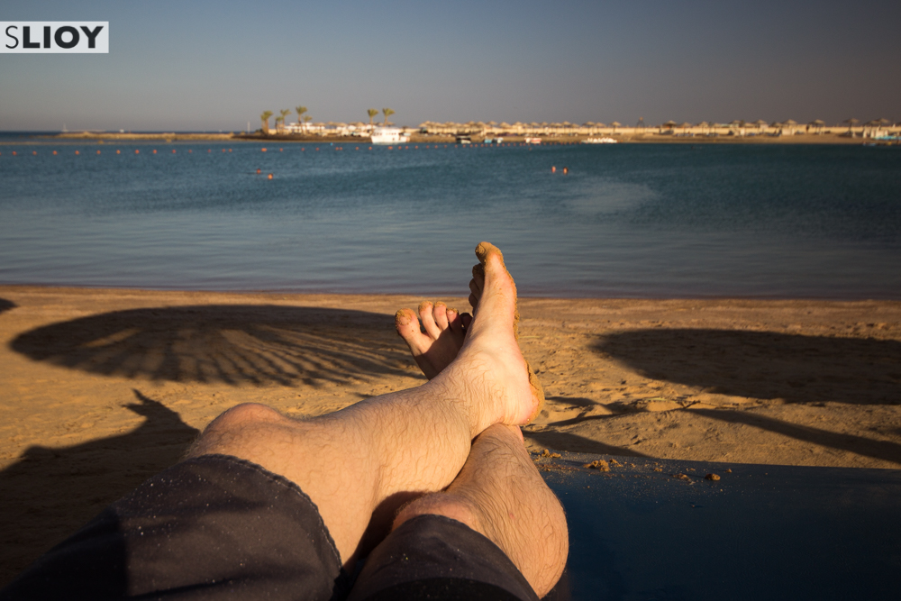 Beaches of Hurghada in Egypt