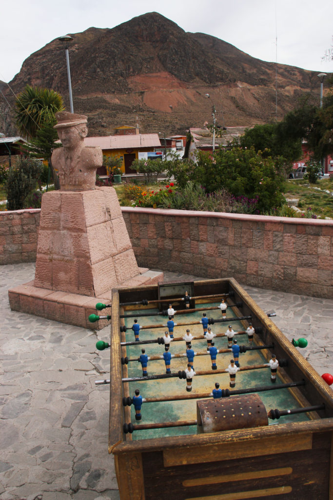 foosball table in small town Reasons to Visit Northern Chile