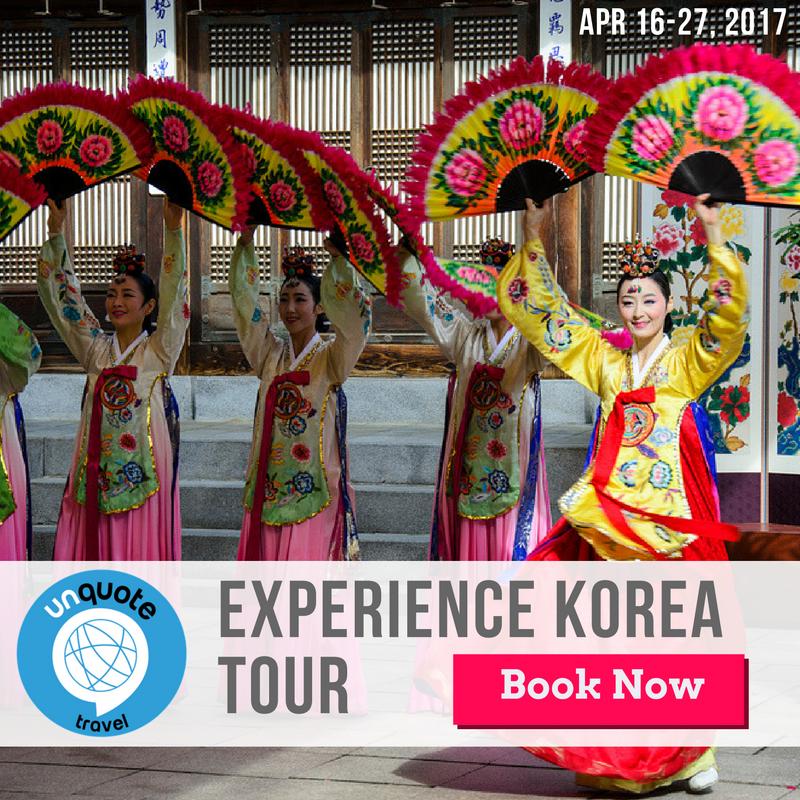 korea small group tour