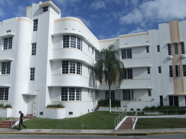 Art Deco in South Beach Miami