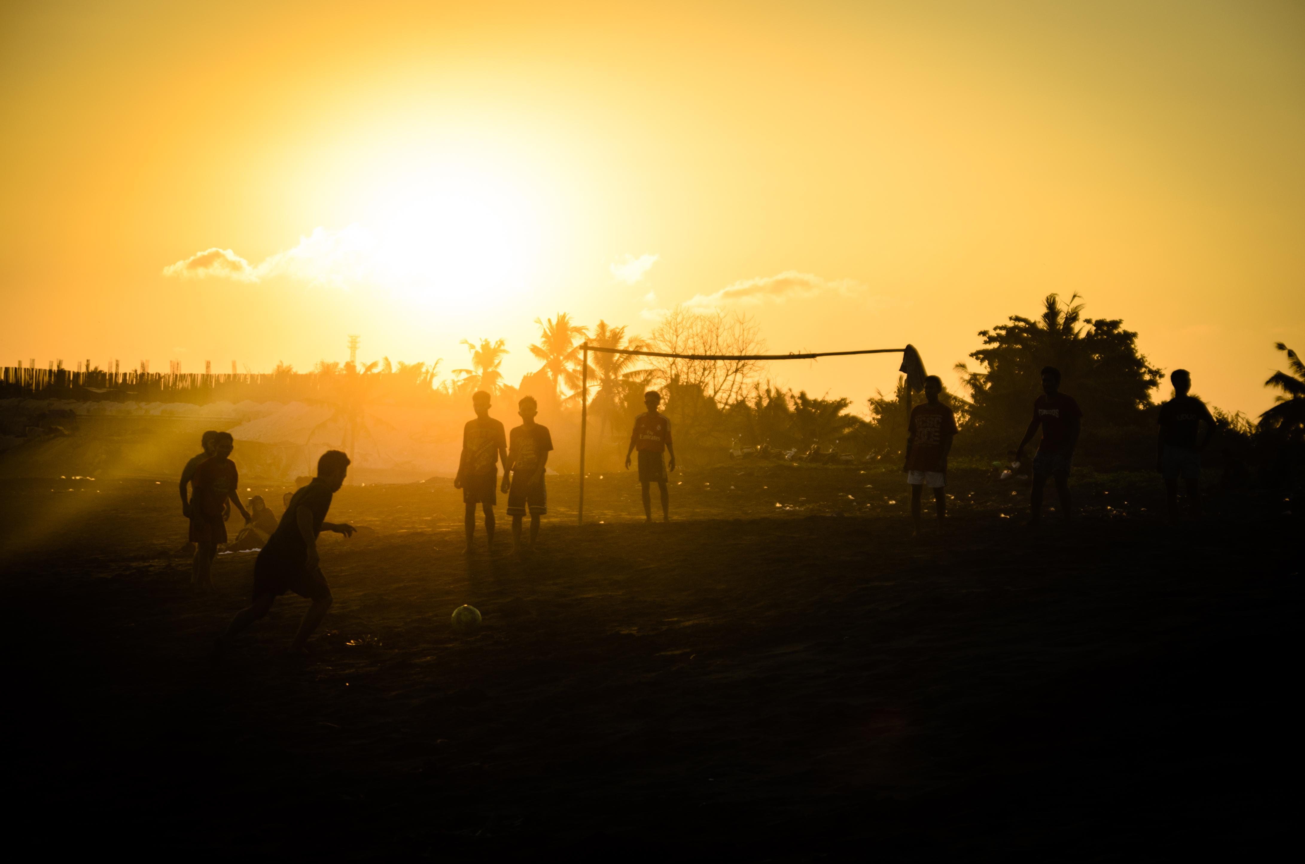 Bali Sunset Soccer