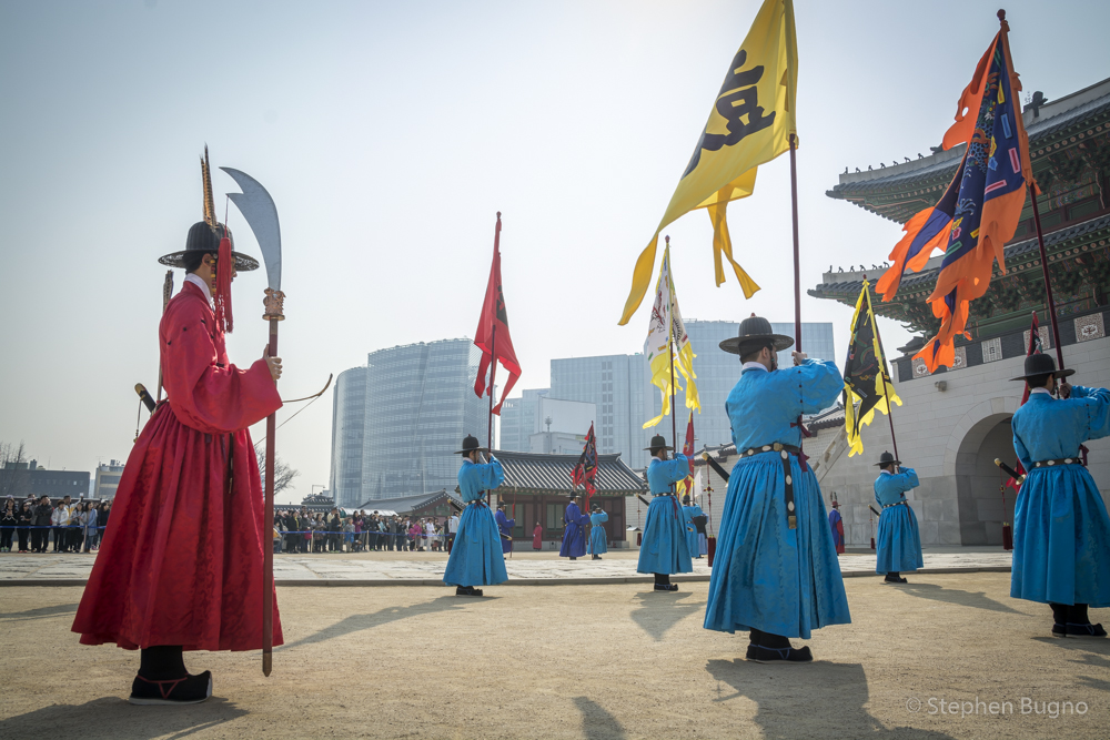 Changing of Guard at Gyeongbokgung Palace