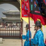 Changing of Guard at Gyeongbokgung Palace