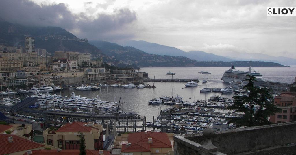 Monte Carlo Harbour in Monaco