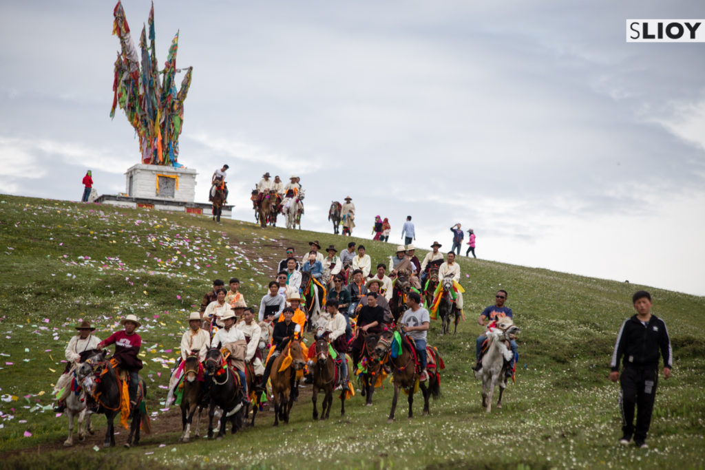 Tagong Horse Festival Sichuan China