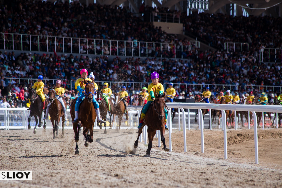 At Chabysh horse racing at World Nomad Games 2016.