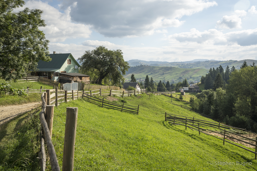 Carpathian Mountains of Ukraine