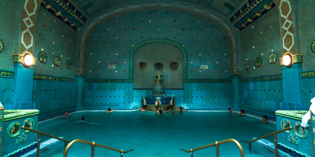 Photo of the Week: St. Gellert Baths Budapest
