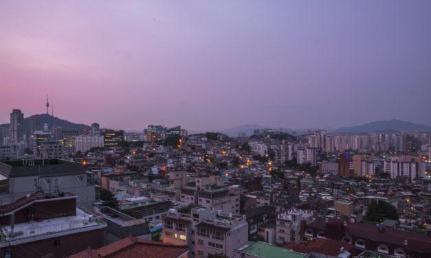 Photo of the Week: Dusk in Seoul