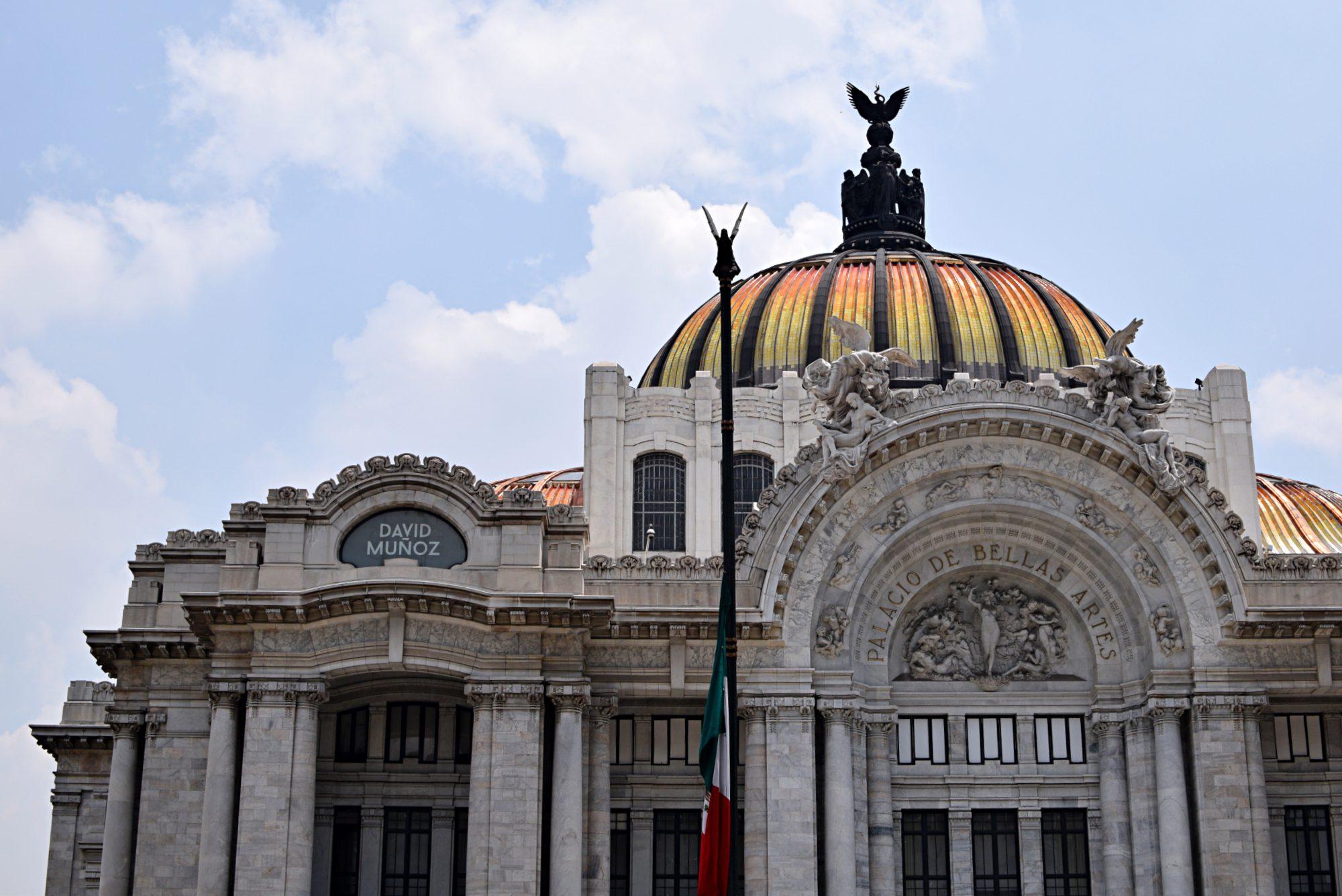 palace of fine arts mexico city