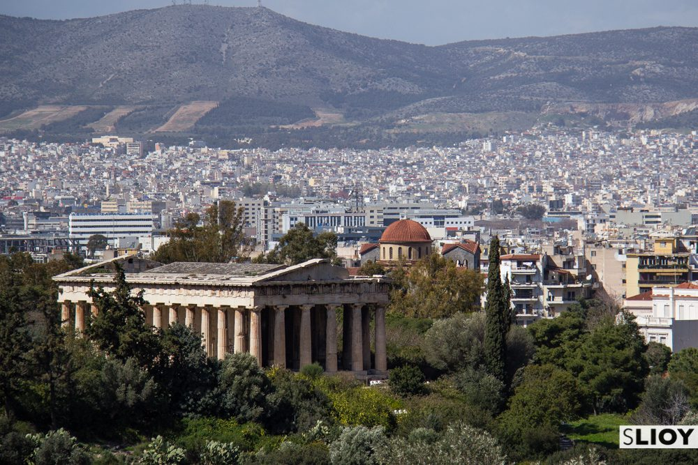 Athens Ancient Agora and temple of Hephaestus