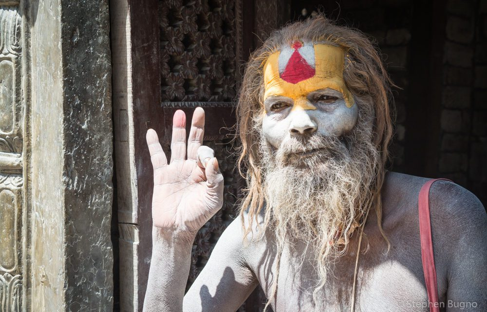 Photo of the Week: Sadhus at Pashupatinath Hindu Temple Kathmandu