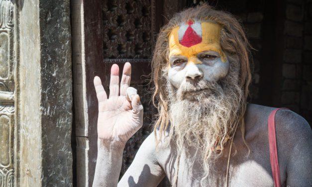 Photo of the Week: Sadhus at Pashupatinath Hindu Temple Kathmandu