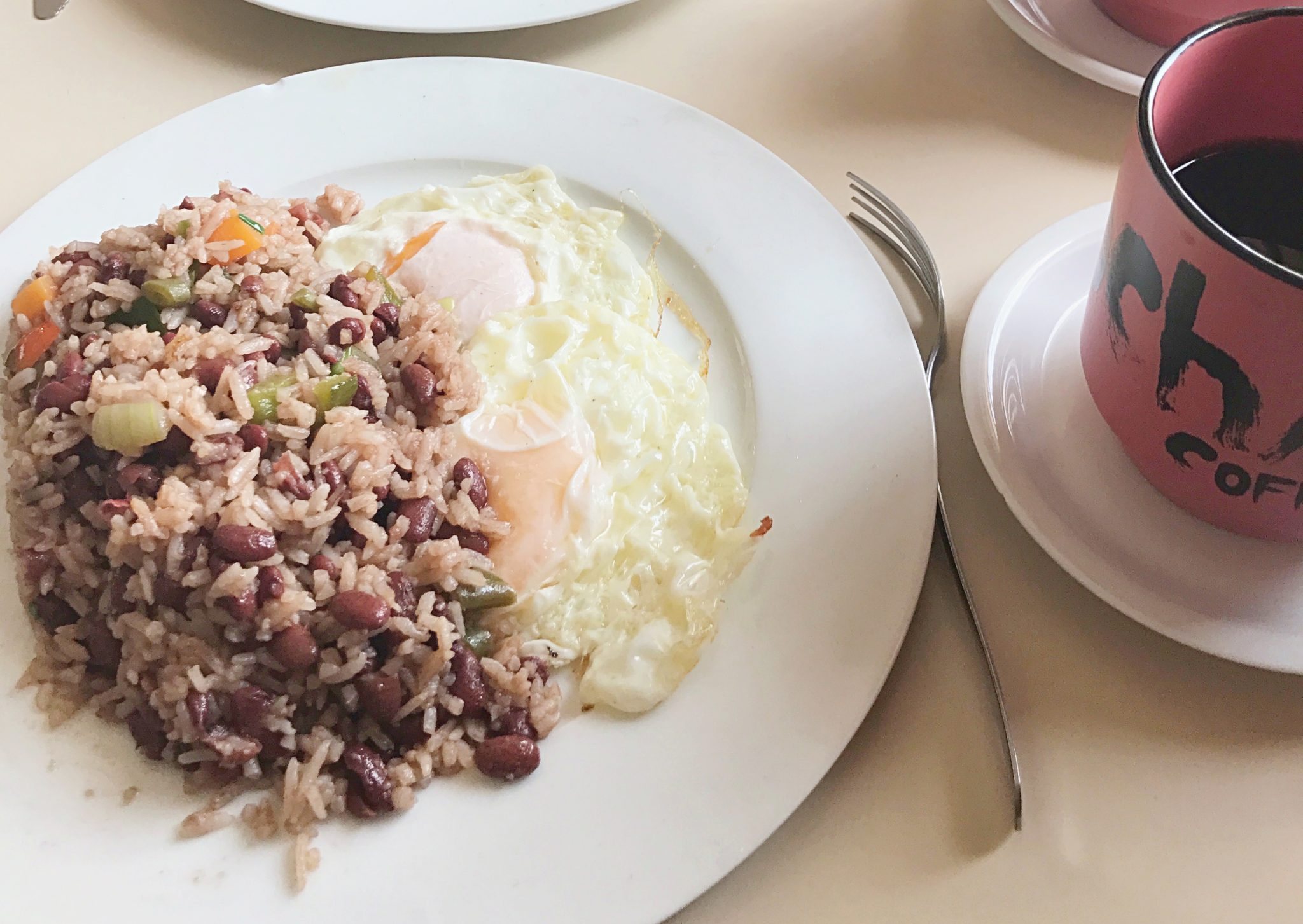 Gallo Pinto Breakfast Costa Rica
