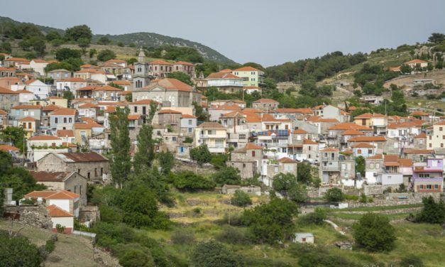 Photo of the Week: Mountainside Greek village of Stipsi Lesvos