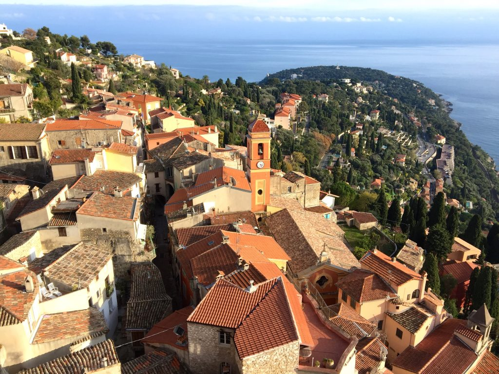Villages in the French Riviera