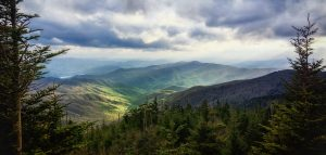 Smoky Mountains Grandeu by Bobby Palosaari