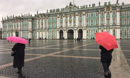 One Day in Saint Petersburg, Russia