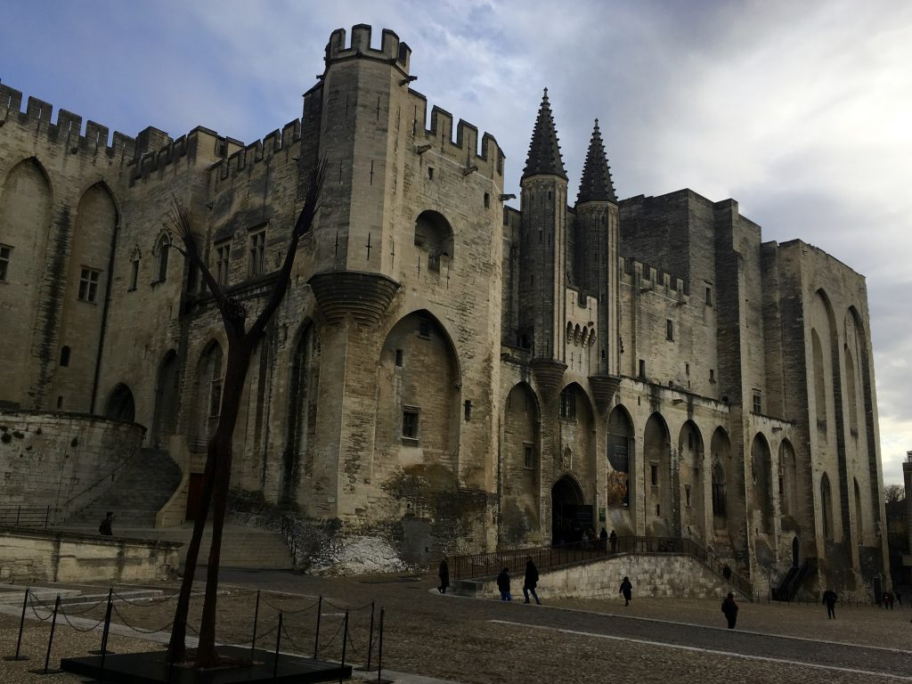 Photo of the Week: Papal Palace of Avignon - GoMad Nomad