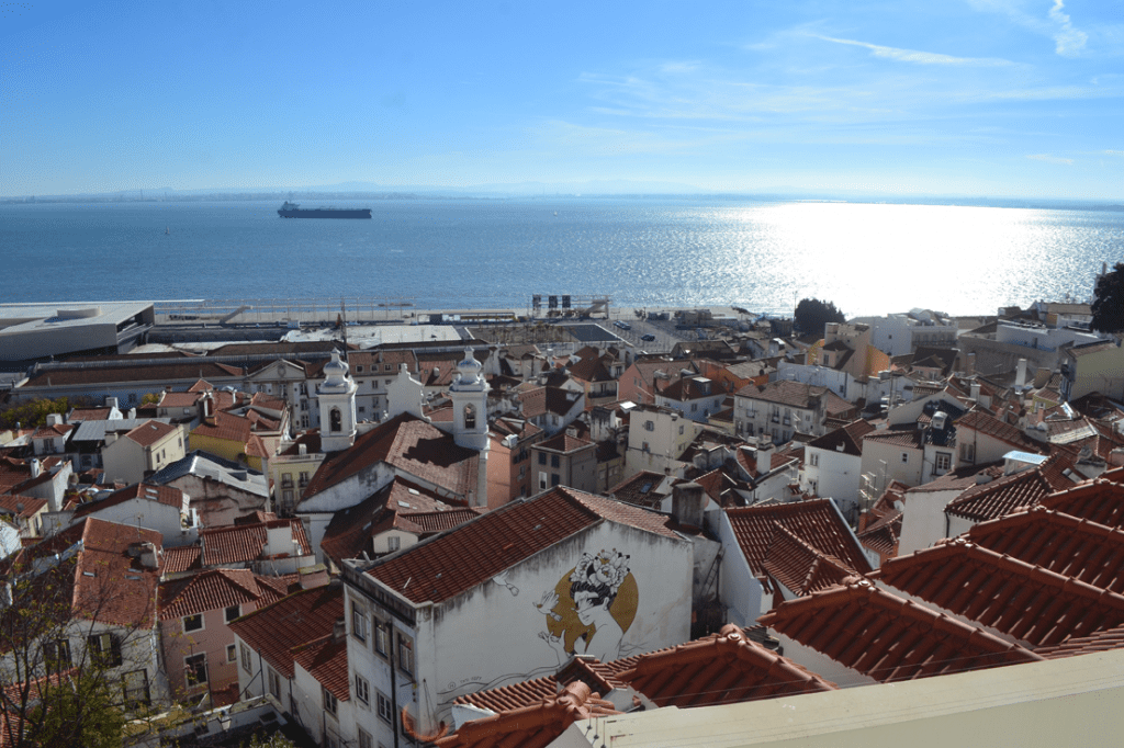 Lisbon in winter