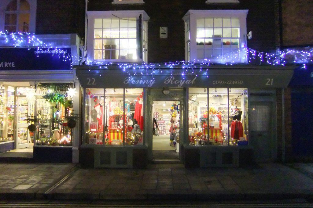 High Street shops Rye England