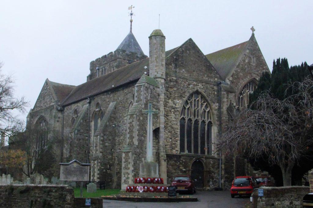 Saint Mary's church Rye England