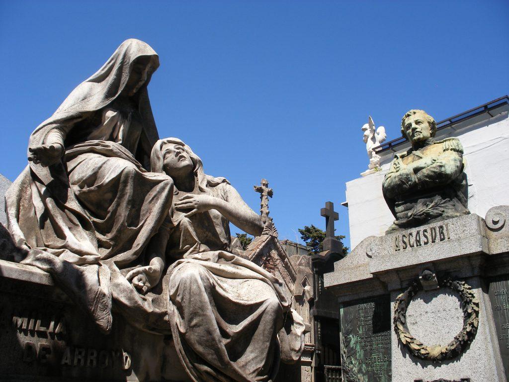 Hilario Ascasubi tomb Recoleta Cemetery