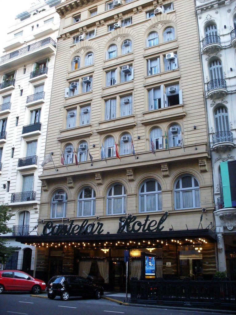 Castelar Hotel Historic Buenos Aires cafés