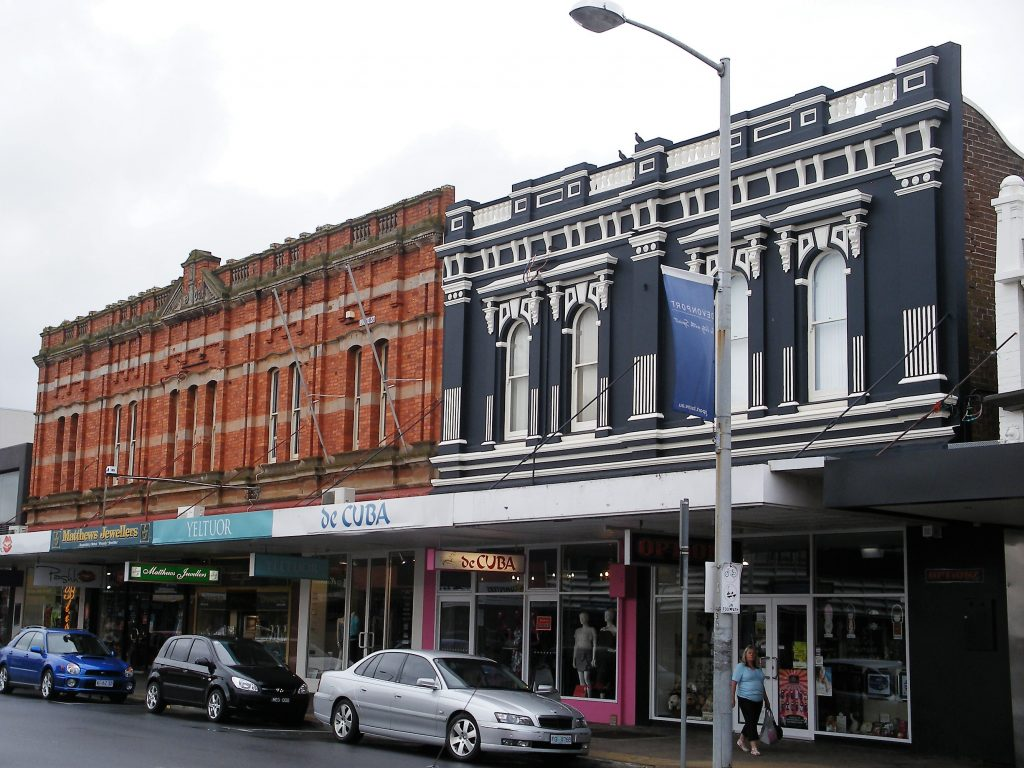 Explore downtown Devonport Tasmania