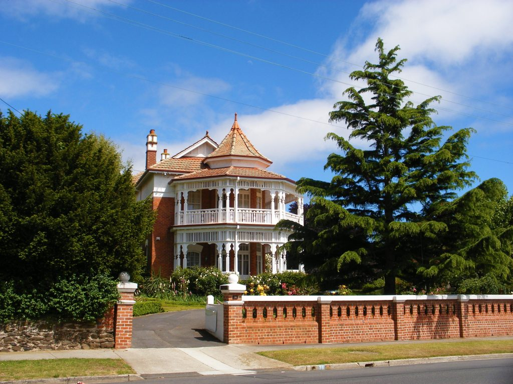 Moor's Court historic house Devonport Australia