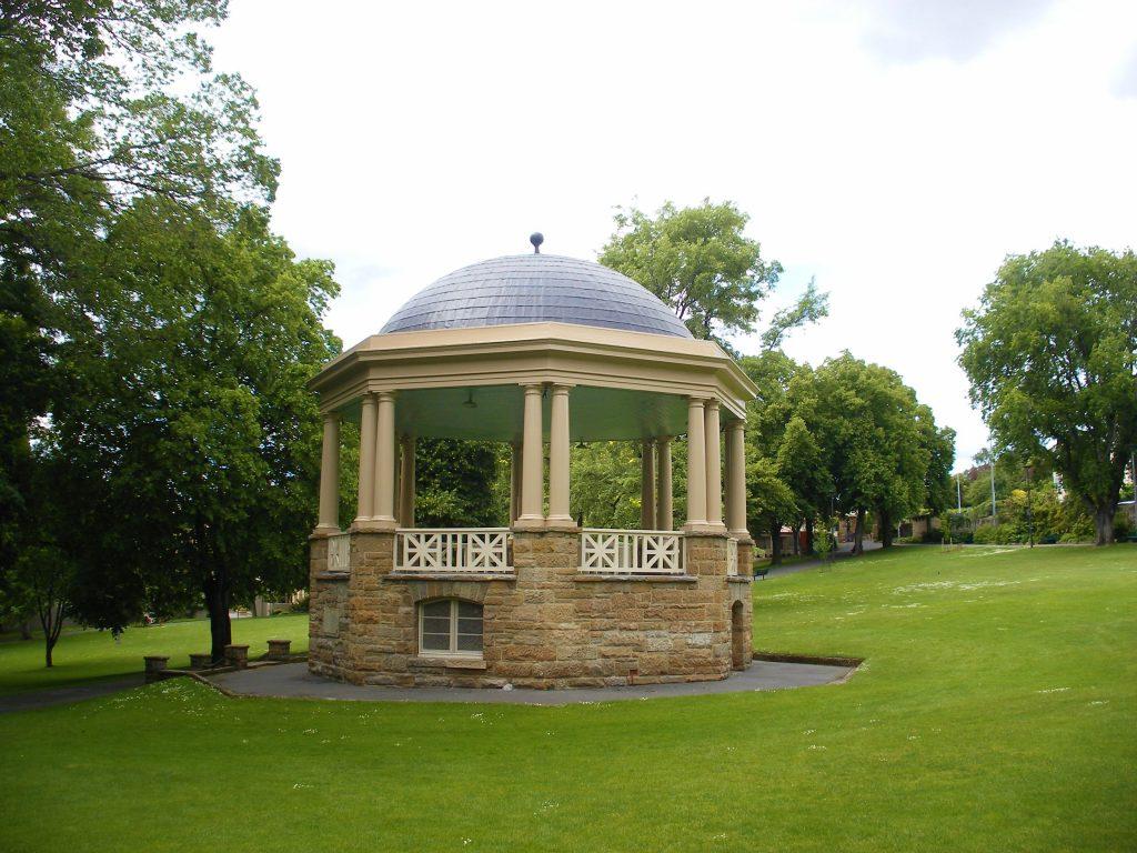 St. David's Park gazebo