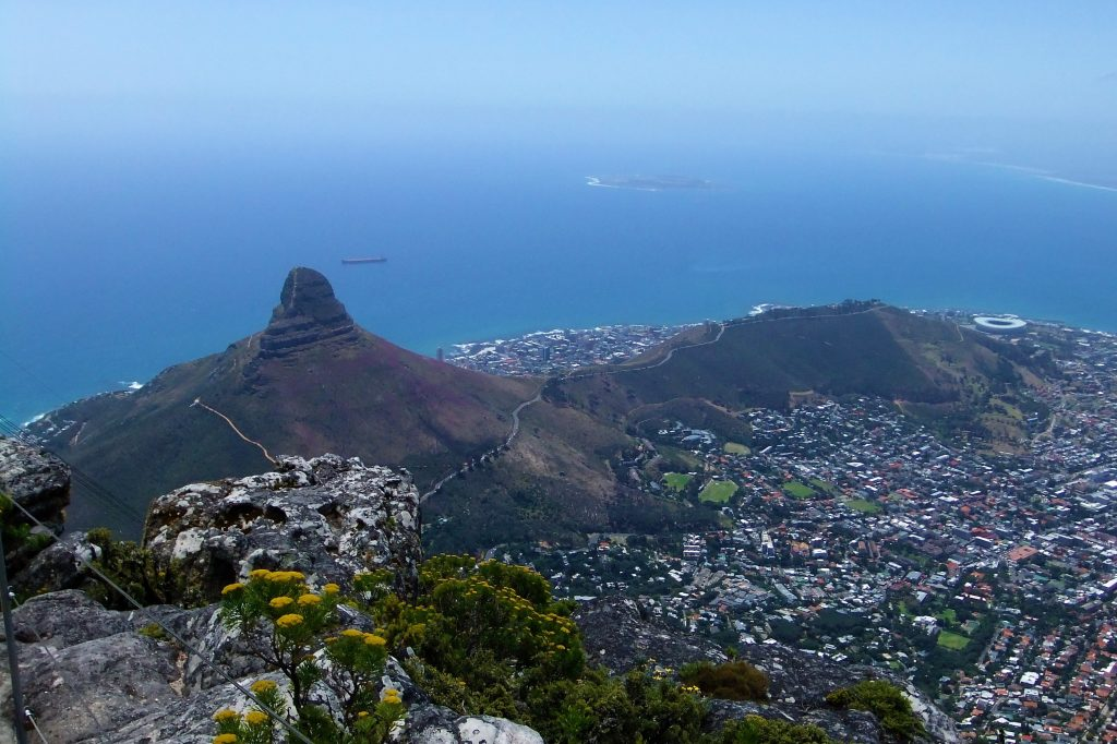things to do in cape town lions head signal hill view from table mountain